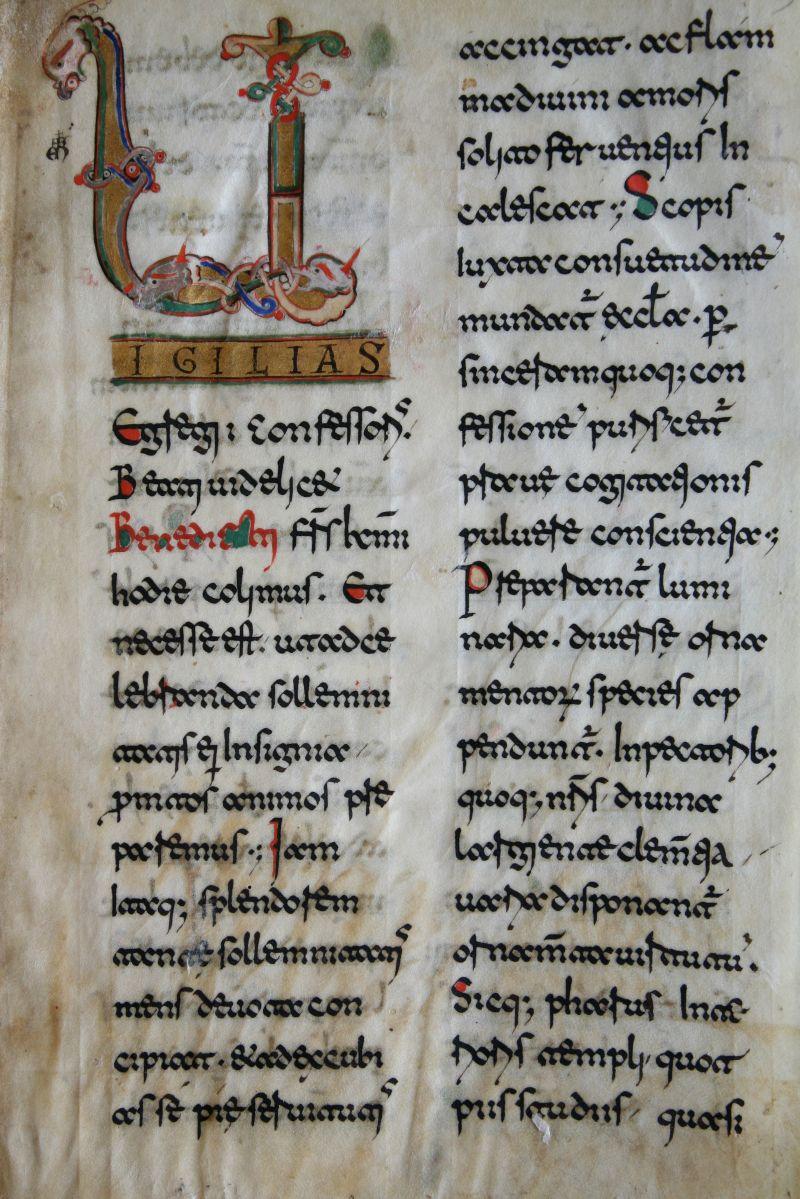 Casin. 453, p. 3, Archivio dell'Abbazia di Montecassino